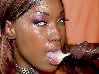 ebony, amateur, brunette