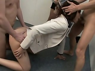 japanese, fetish, gangbang